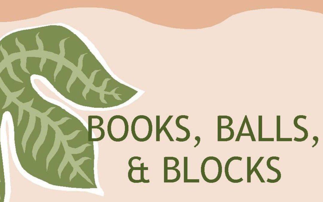 Books, Balls & Blocks
